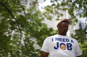 unemployed black man