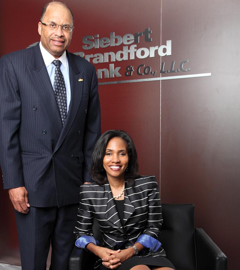 Siebert Brandford Shank Makes Wall Street History