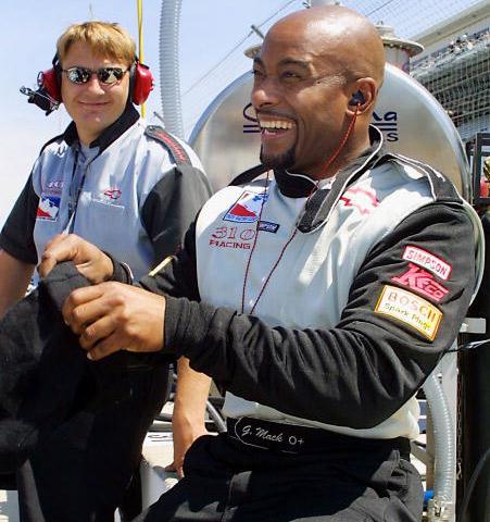 racecar driver George Mack