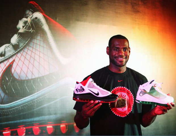 LeBron James Nike endorsement deal