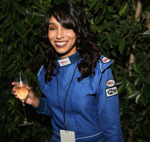 female racecar driver Nicole Lyons