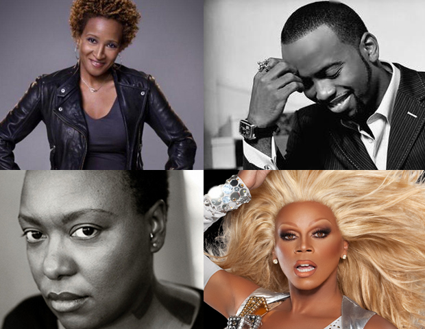 Black LGBT Entertainers: Out & Proud