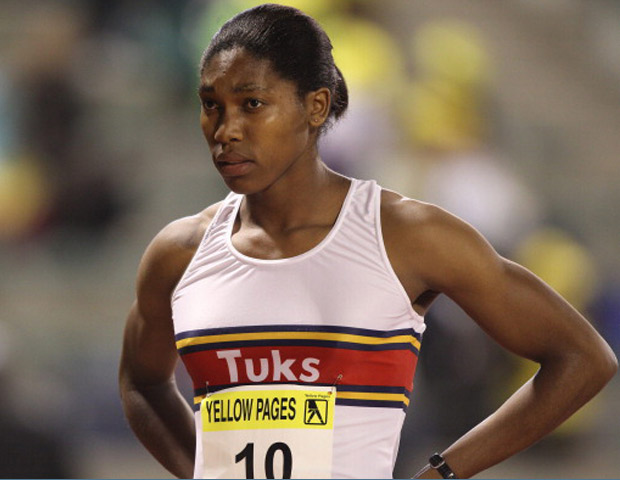 Track star Caster Semenya