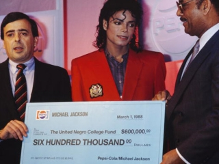 Michael Jackson the United Negro Fund