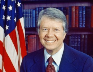 jimmy carter smiling