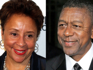 Sheila Johnson & Bob Johnson