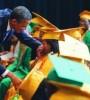Barack Obama greeting graduates