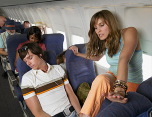 6 Good Things About the Worst Row on an Airplane