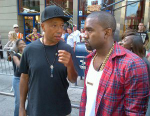 Kanye West Shows Up at Occupy Wall Street…In a Maybach?