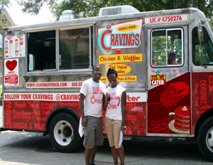 FAMU Grads Serve Up Social Responsibility with The Cravings Truck