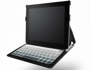 Skinny Case for iPad 2 Doubles as Portable Keyboard