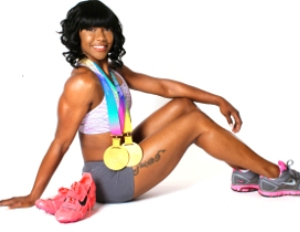 Carmelita Jeter Talks About the 2012 Olympics and the Business of Track & Field
