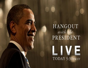 'Hang Out' with Obama on Google+ Tonight