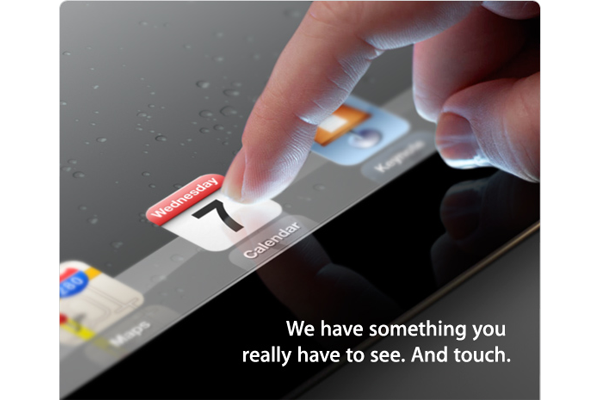 Reveal of iPad 3 Expected March 7