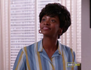 Mad Men's Token Black Character?: Teyonah Parris Becomes First African American in Ad Office
