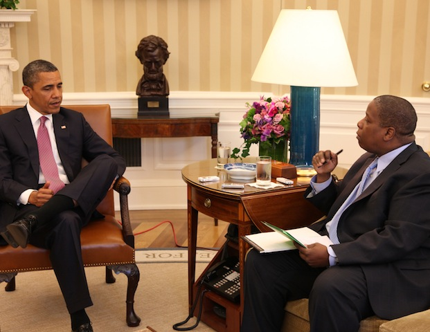 PHOTOS: Inside Black Enterprise's Exclusive Interview with President Barack Obama