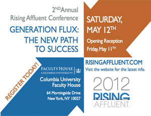 Rising Affluent 2012 – Discount!