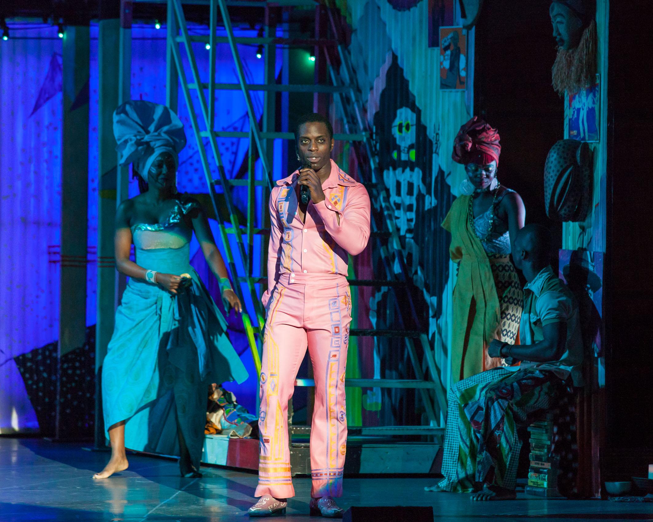 Adesola Osakalumi: Broadway's New 'Fela'