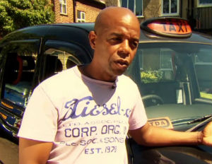 London Cab Driver Turns Backseat Into A Hotel