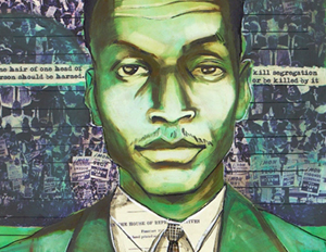 Artist Creates Tribute with 'Freedom Fighters' Exhibit