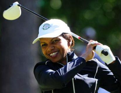 Condoleezza Rice, First Black Woman To Join Prestigious Golf Club