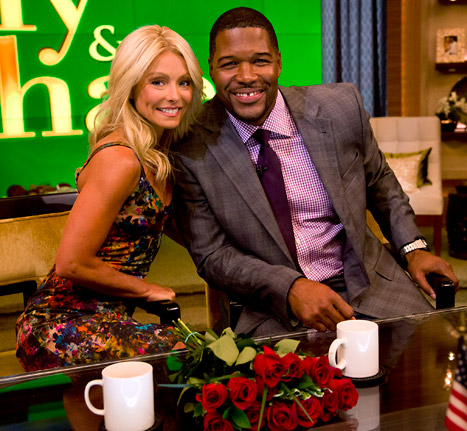 Michael Strahan's Debut on Live! with Kelly Earns Big Ratings