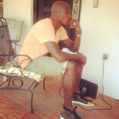 Chad Johnson Tattoos Evelyn Lozada's Face on His Leg
