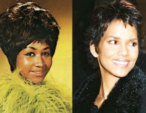 Aretha Franklin and Halle Berry Related?