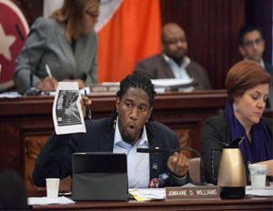 'Stop and Frisk' Leads to Shouting Match at Hearing