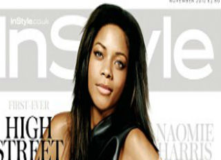 Black Bond Girl Naomie Harris Covers InStyle UK
