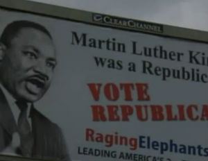 'MLK Was a Republican' Billboard Sparks Outrage