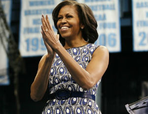 Michelle Obama Delivers Speech to Chicago High School Students