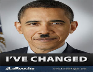 Woman Jailed for Removing Posters Depicting Obama as Hitler