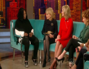 Whoopi Barraged With Angry Tweets After Ann Romney Interview