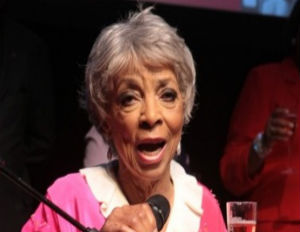 Ruby Dee Celebrates Her 90th Birthday in Harlem