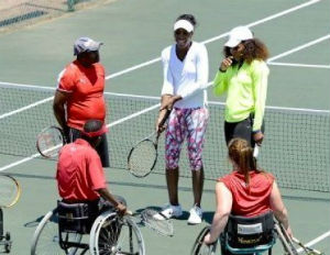 Venus, Serena, Head to Soweto To Give Tennis Lessons To Kids