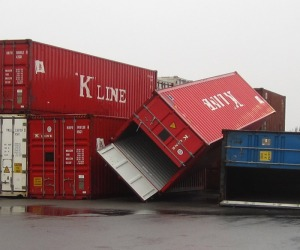 hurricane sandy damages supply chain holiday time