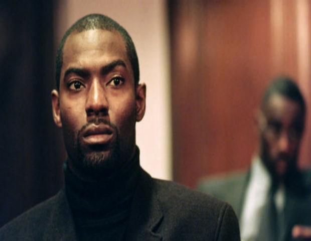 Hassan Johnson staring