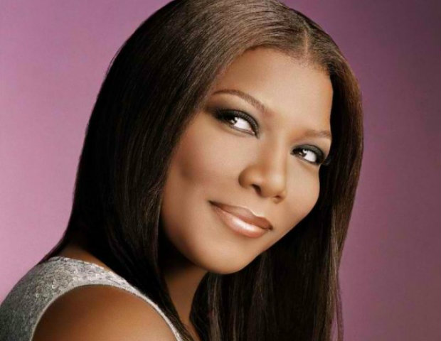 Queen Latifah poses for a CoverGirl ad.