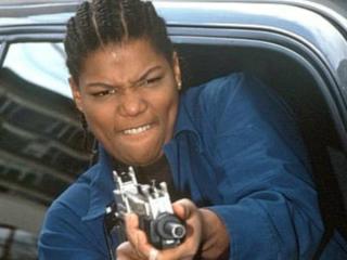 Queen Latifah blasts off in Set It Off.