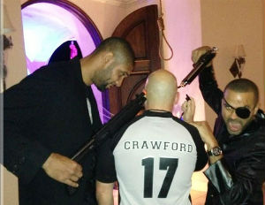 NBA Players Halloween Costumes Show Them Shooting Referee