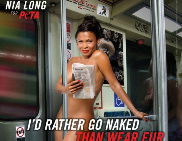 nia long nude peta ad