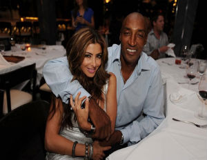 scottie pippen and wife