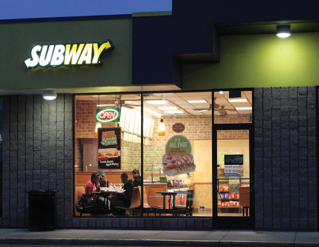 subway sandwich location