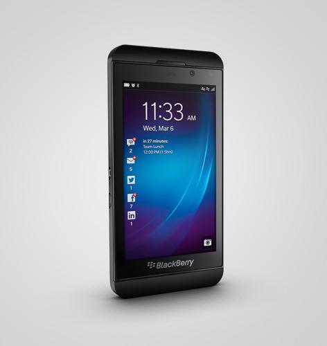 BlackBerry Z10 Sales Off to Slow Start