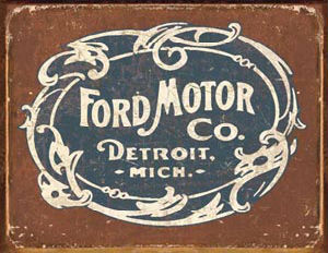 ford motor company old logo
