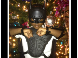Royce Reed + Braylon dress up for Christmas