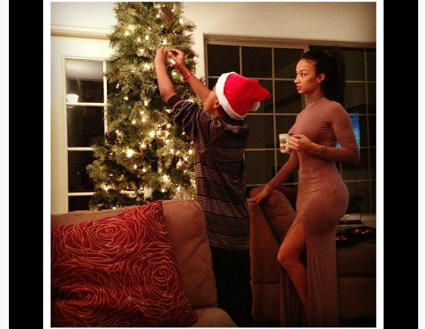 Draya Michele, the night before Christmas.