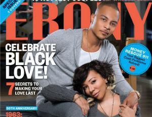 ti and tiny ebony magazine
