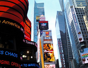 NYC Times Square Incubator Space Launched